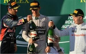 F1 Melbourne 2014 Podium